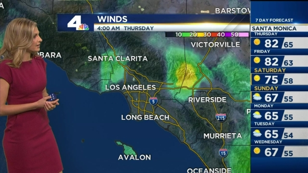 [LA] AM Forecast: Triple Digit Temps Possible