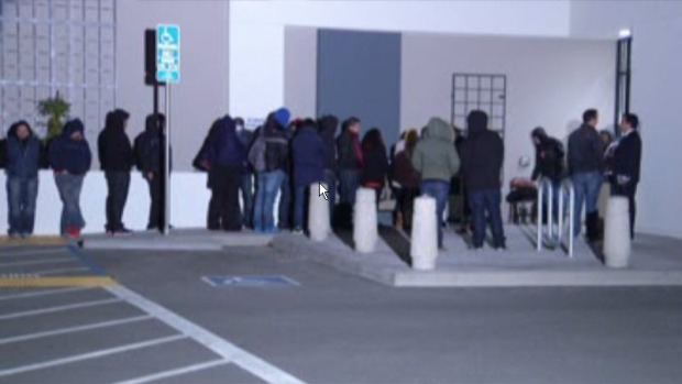 "[BAY] ""A Necessity"": Undocumented Line Up at DMV"