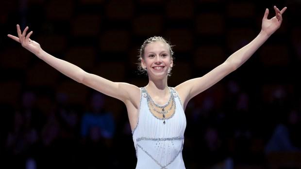 American Olympian: Polina Edmunds