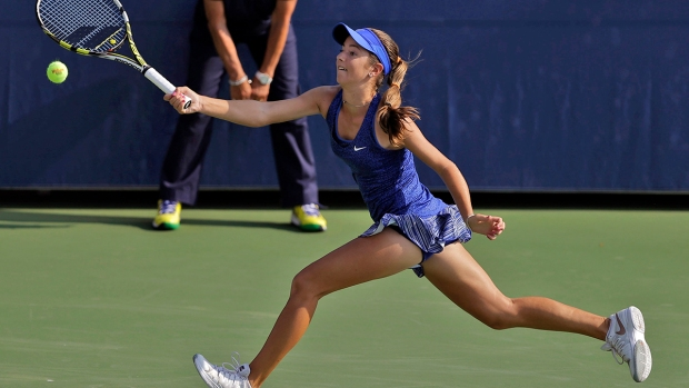 "Tennis Sensation ""CiCi"" Bellis Shows Off Her Moves"