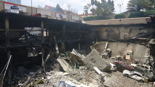 [NATL] Dramatic Images: Kenya Terror Attack