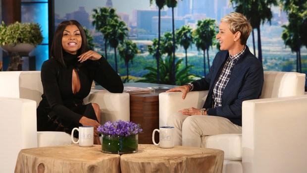 [NATL] 'Ellen': Taraji P. Henson on 'Bittersweet' Emmys