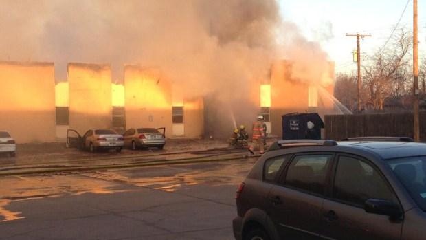 [DFW] Dozens Left Homeless After Everman Apartment Fire