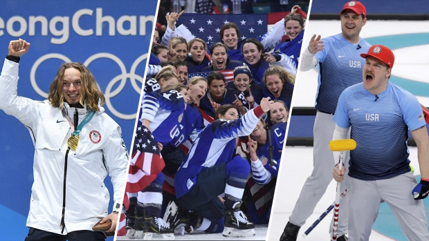 [NATL] Feb. 22 Olympics Highlights in Photos: US Dominates in Women's Hockey, Men's Halfpipe, Advances to Finals in Curling