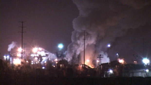 [BAY] Metal Plant Fire Impacting Bay Area Air Quality