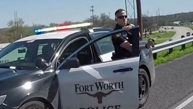 FWPD Investigate Claim Officer Sprayed Bikers With Mace