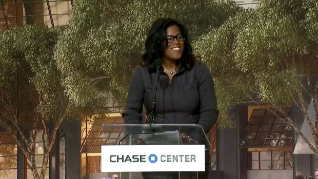 'Teamwork Makes the Dream Work,' Says Chase Rep. on Warriors Groundbreaking