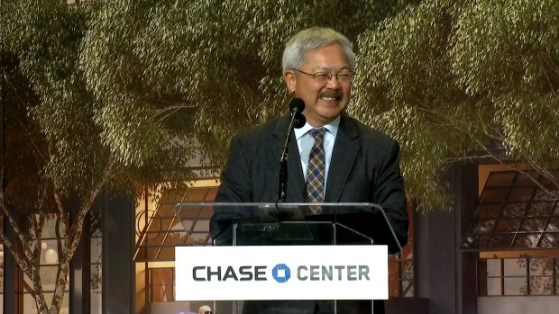 Mayor Ed Lee: 'Welcoming the Golden State Warriors to San Francisco'