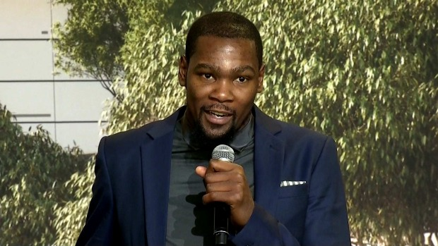 Kevin Durant: 'Excited for the Future and Happy to Be Here'
