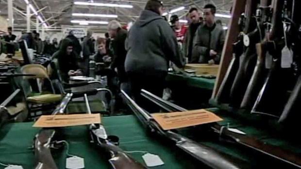 [BAY] Politicians, Students Push to Ban Gun Shows at Cow Palace