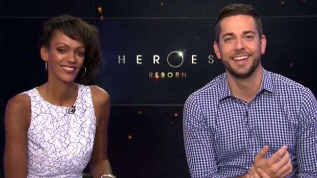 [DFW] 'Heroes Reborn' Stars Discuss Show