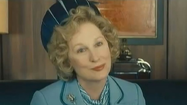 "Meryl Streep is ""The Iron Lady"""
