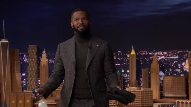 [NATL] 'Tonight': Jamie Foxx Has Video of Whitney Houston Singing Karaoke
