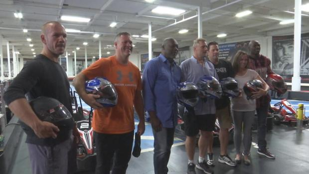 [BAY] Bay Area Sports Legends Team Up for Go-Kart Racing Benefit on 9/11 Anniversary