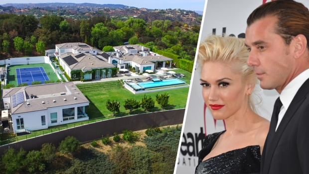 Stefani and Rossdale List Beverly Hills Estate for $35M