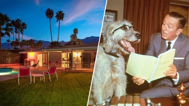 Take a Look: Walt Disney's Technicolor Desert Retreat Is for Sale