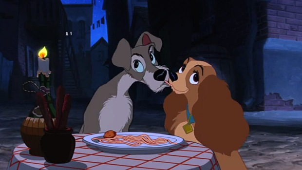 "Cover Your Eyes: ""Lady & The Tramp"""