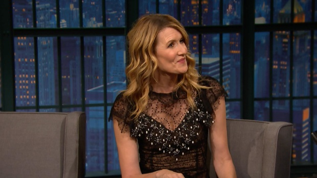 [NATL] 'Late Night': Laura Dern Pays Homage to Carrie Fisher in Latest Installment of 'Star Wars'