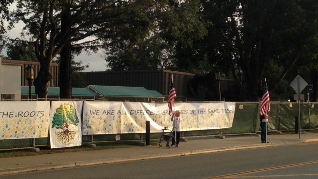 Must See: Parent Patriot Group Protests at Live Oak High School