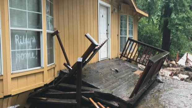 Mudslide Devastates Family Property in Los Gatos