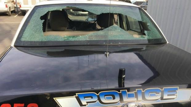 [BAY] 'He Has a Gun!': Civilian on Ride-Along Cries During Madera Police Shootout
