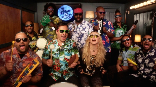 """[NATL] WATCH: """"Tonight Show"""" Music Room With Madonna"""