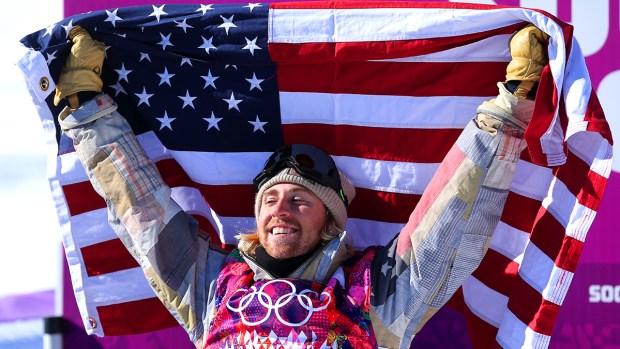 [AP] American Sage Kotsenburg Wins First Sochi Gold