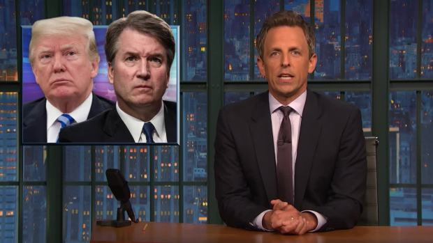 [NATL] 'Late Night': A Closer Look at GOP's Defense of Kavanaugh