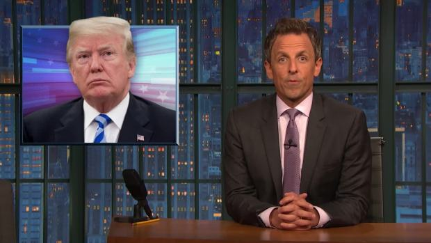 [NATL] 'Late Night': A Closer Look at the 'Law and Order' President on Collusion
