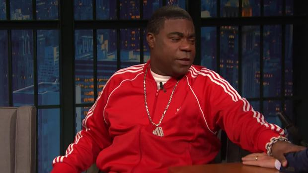 [NATL] 'Late Night': Tracy Morgan Talks Holidays, Kids With Seth Meyers