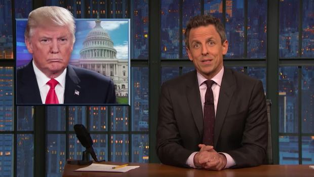 [NATL] 'Late Night': A Closer Look at Giuliani, Miller Defending Trump