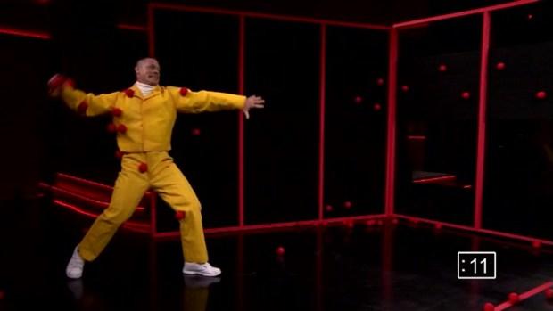 [NATL] 'Tonight Show': Sticky Balls With John Cena