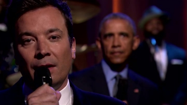 'Tonight': Slow Jam the News With Obama