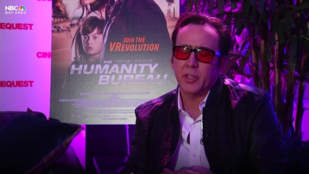 Nicolas Cage Talks #TimesUp at Silicon Valley's Cinequest