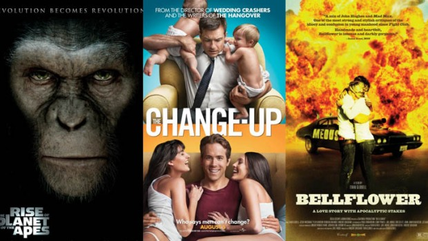 "This Week's New Movies: ""Apes"", ""Change-Up"" & More"