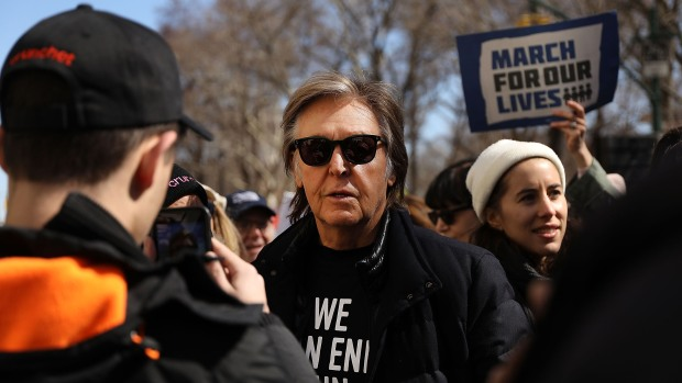 [NATL-NY] Why Paul McCartney Joined Anti-Gun Violence March in NYC