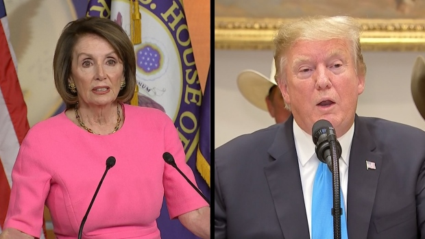[NATL]  Trump, Pelosi Trade Harsh Words