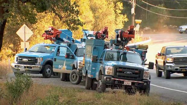[BAY] PG&E May Shut Off Power in Some Areas Due to Fire Danger