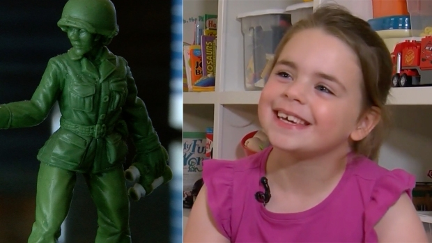 [NATL] 6-Year-Old Girl Leads Charge for 'Little Green Army Women'
