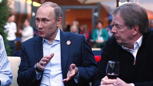 [SOCHI] Vladimir Putin: Rugged Sportsman Enjoys Games
