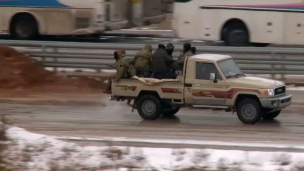 [NATL] Raw: Rebels Leave Eastern Aleppo