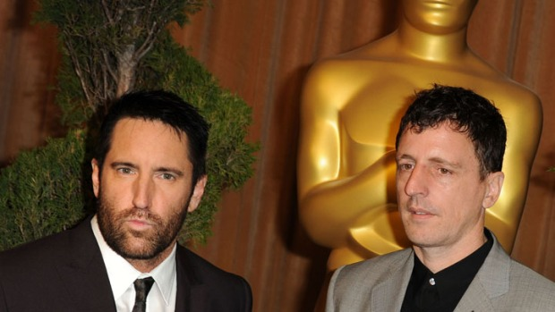 "Trent Reznor & Atticus Ross Win for ""Social Network"" Score"