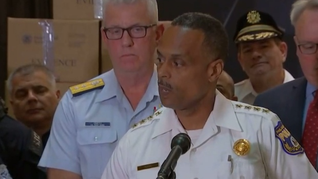 [NATL] Police Commissioner After Billion-Dollar Bust: 'You Have to Talk About the Violence'