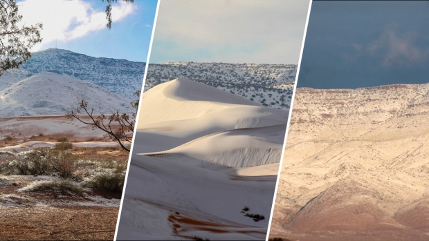 [NATL] Snow Blankets the Sahara Desert, The Hottest Desert in the World