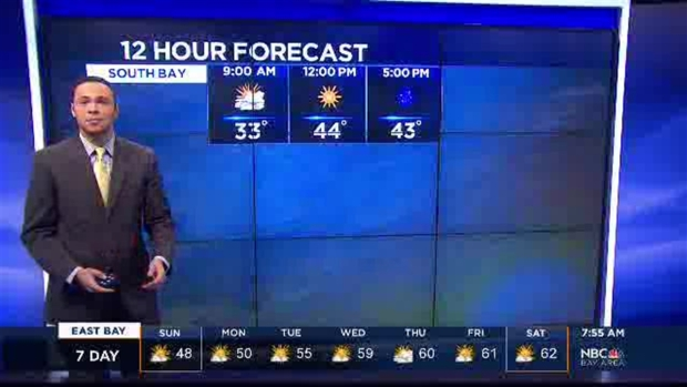 [BAY] Another Round of Freezing Temps Monday Morning