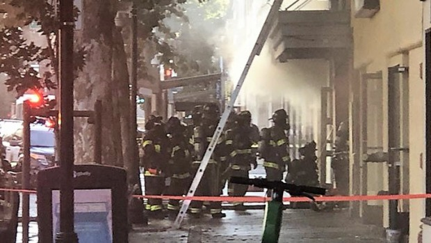 [BAY] Firefighters, Police Respond to Fire at Downtown SJ Building