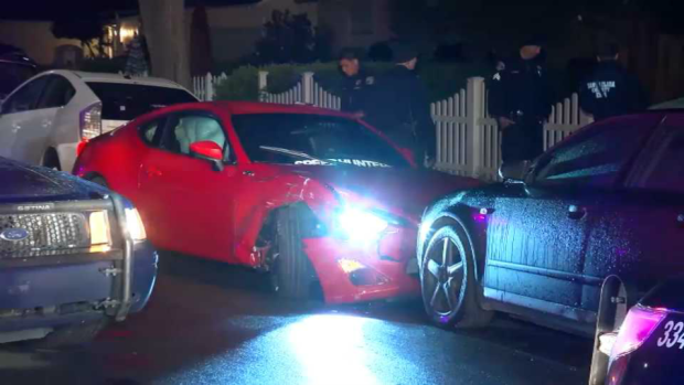 [BAY] Neighbors Detain Driver Who Struck Vehicles in SJ: Witness