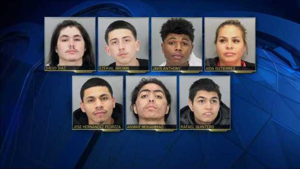 Adults, 5 Juveniles Arrested In San Jose Crime Spree