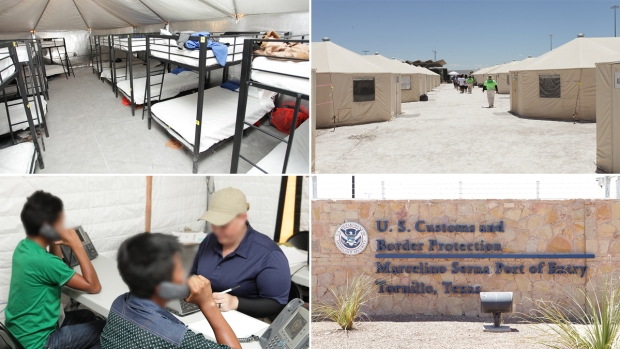[NATL] Inside the Tornillo 'Tent City' Housing Migrant Children