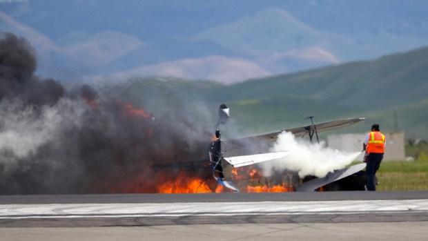 Fatal Plane Crash At Travis Air Force Base Cancels Airshow